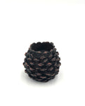 Pinecone Candle Holder Pair