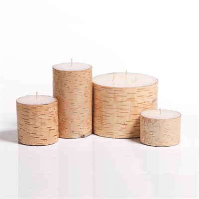 Birchwood Candle Tall
