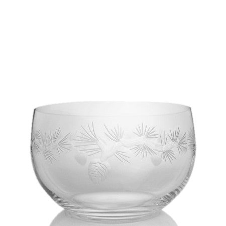 "Rolf Glass - Icy Pine 6"" Small Bowl"