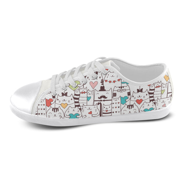Cool Cats Canvas Shoes For Women Ltd Edition D322426