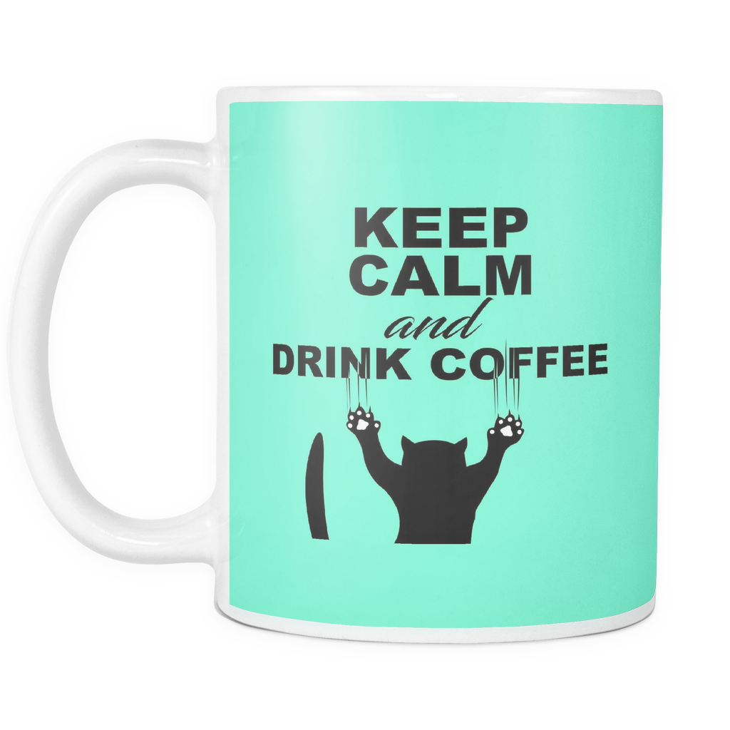 Keep Calm Cat Mug