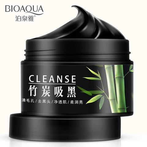 BIOAQUA Natural Bamboo Charcoal Facial Washable For A Treat Acne