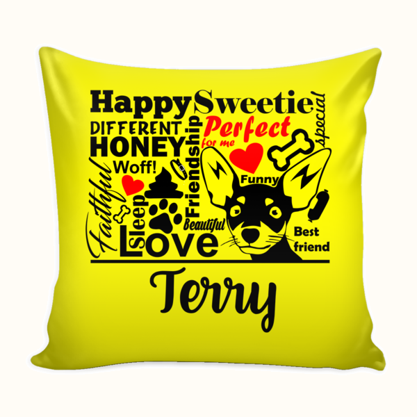 ♥♥Dog Lovers Pillow Cover II♥♥
