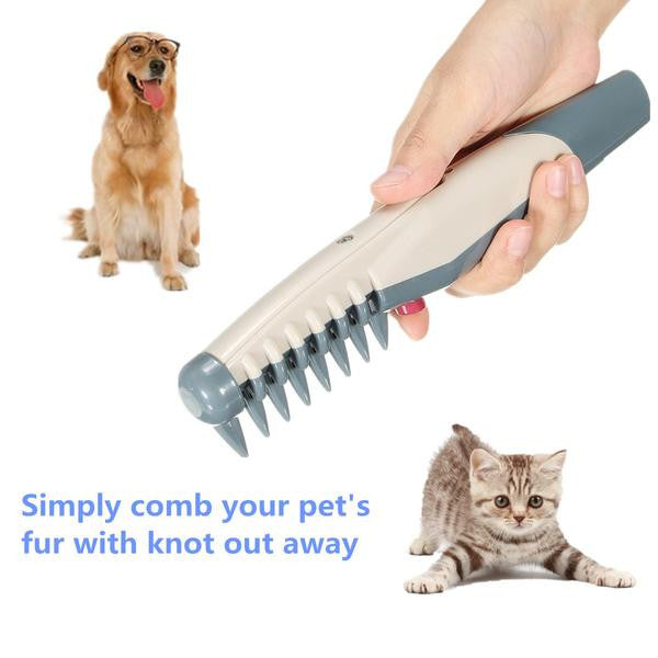 Knot Out™ Electric Pet Grooming Comb