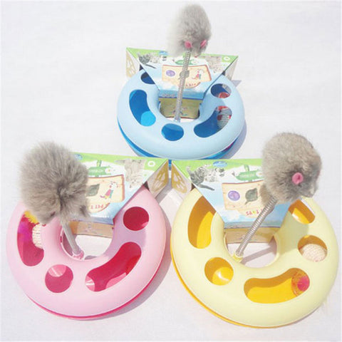 Cat **New Hot** Toy Multifunctional Disk Play Activity
