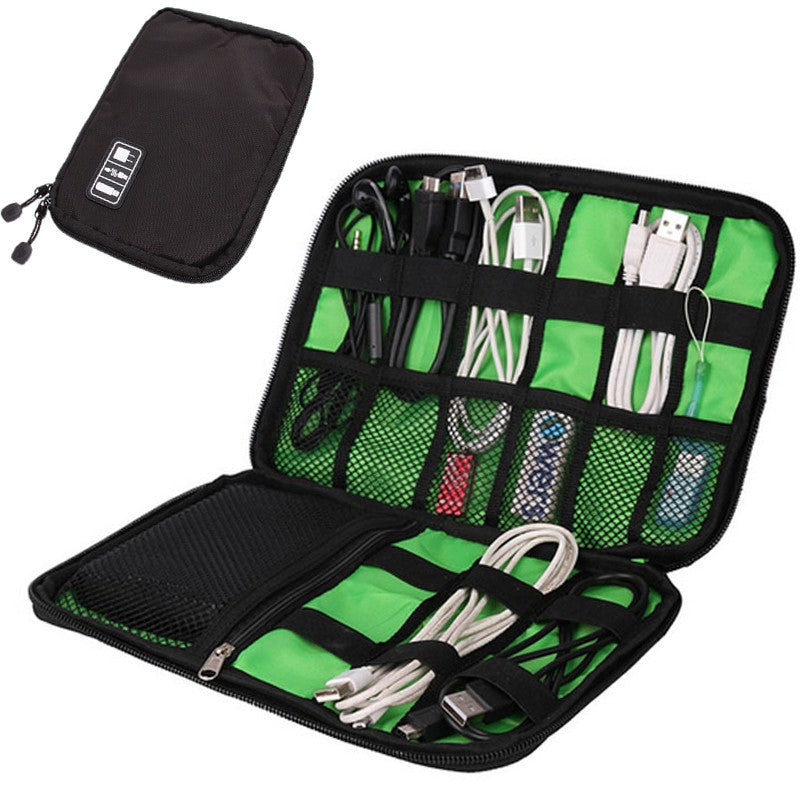 Portable Cable Storage Bag Organizer