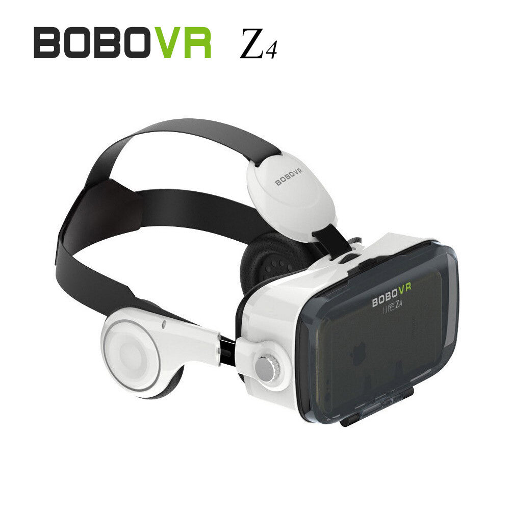 VR Box 3D Movie Video Game Glass Virtual Reality With Headphone - Free Shipping