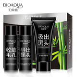 BIOAQUA Skin Care Facial Black Head Acne Treatment 3pcs