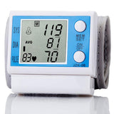Automatic Digital Wrist Cuff Blood Pressure and Pulse Monitor