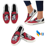 Slip-On Canvas Shoes Pirate Girl Red Color Ltd Edition D403956