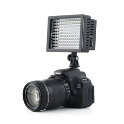 160 LED Video Camera HD Light Lamp 12W 1280LM 5600K/3200K Dimmable for Canon for Nikon for Pentax Camera Video Camcorder