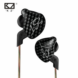 KZ ZST L Bending In Ear Earphone Hybrid Drive HIFI Running Sport Earphones Earplug Earphone With Mic/Without Mic