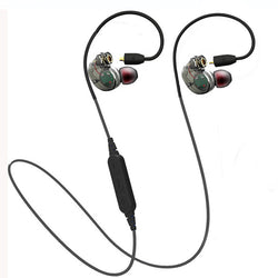 2017 Detachable Sport Wireless Wired Bluetooth 4.1 Earphone Headphones Sweat proof Stereo Super Bass Headset for mobile phone