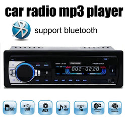 Support Bluetooth/SD Card/USB Port/AUX IN/PHONE New bluetooth 1 Din size 12V car radio stereo mp3 audio player in dash
