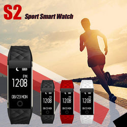 1pc High Quality Bluetooth 4.0 LED Waterproof Smart Wrist Pedometer Bracelet wearable Health Tracker Valentine's Day present#