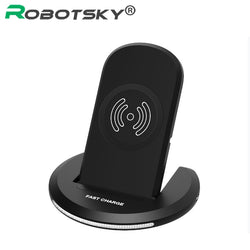 Wireless Charger For Samsung Galaxy S8 S7 S6 A5 J5 Note5 LG G6 G5 G4 U8 Fast Quick Charging Pad Phone Charge Stand 2017 Hot Sale