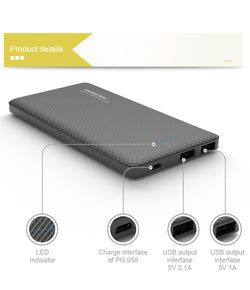 Power Bank 10000mAh External Battery Portable Mobile Fast Charger Dual USB Powerbank for iPhone6s Samsung LG HTC Xiaomi