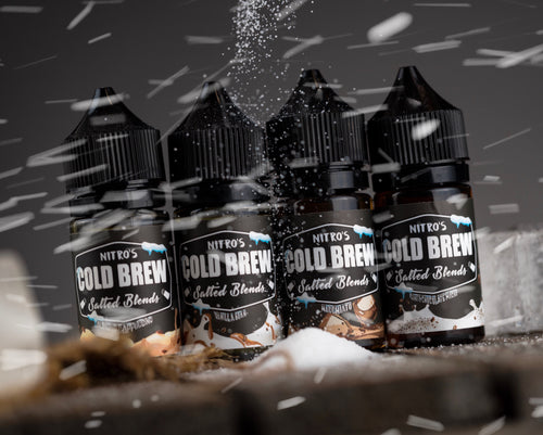 Nitro's Cold Brew Bundle Pack- 4 X 30ML - Salt Blends