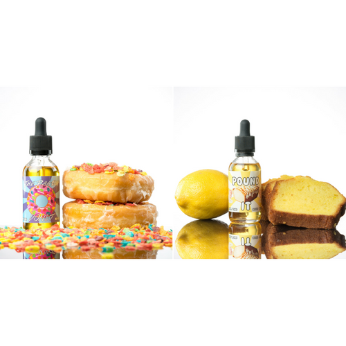 Food Fighter Juice Breakfast Mini Bundle Pack - 2 X 60ML