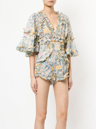 be0fe6db7f Alice McCall - Choose me Playsuit Gold Bloom