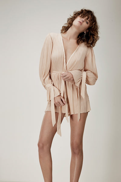 Unstoppable long sleeve playsuit