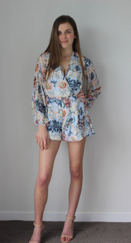 Mystical garden playsuit