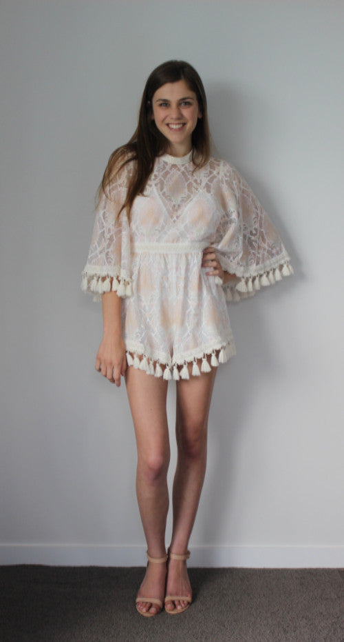 de58692c031 Alice McCall - Young Hearts Run Free Playsuit Shell Pink