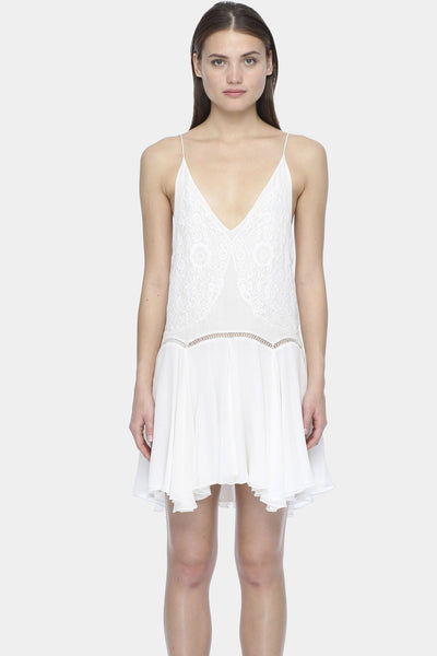 Iris Dress in White