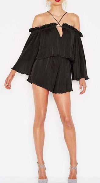 Locomotion Playsuit in Black
