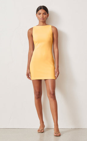 Raphaela Mini Dress in Melon