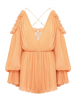 Shake for me Playsuit Apricot