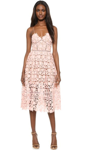 Azalea Dress in Light pink