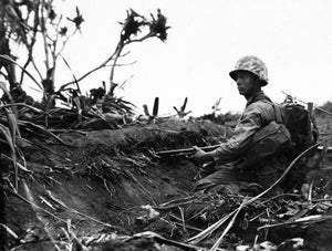 Fatigue in Combat on Iwo Jima