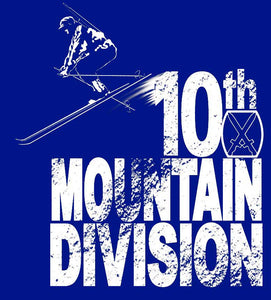 New Tenth Mountain t-shirt and modified designs