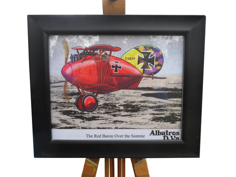 "Aviation Fine Art Print - ""The Red Baron Over the Somme"""