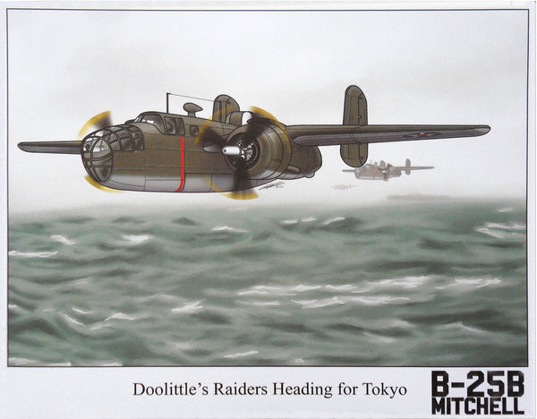 "Aviation fine art print - ""Doolittle's Raiders Heading for Tokyo"""