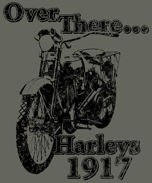 Over There Harley t-shirt