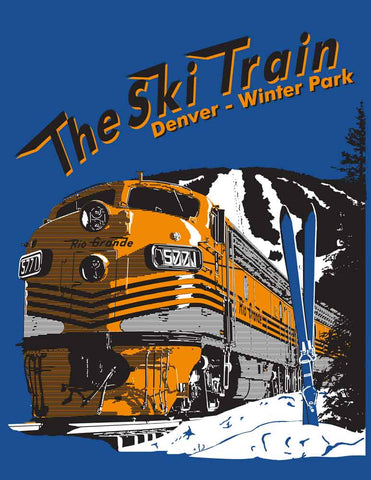 Ski Train Denver Winter Park