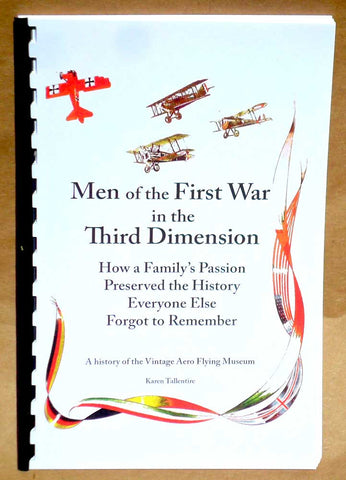 Men of the First War in the Third Dimension booklet