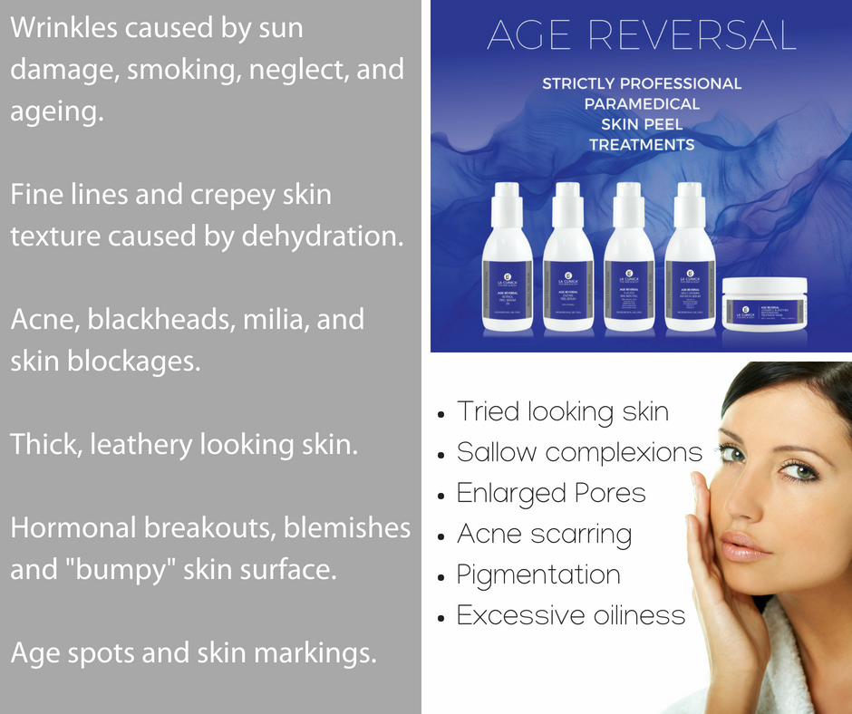 Try the La Clinica Age Reversal, it is wonderful!