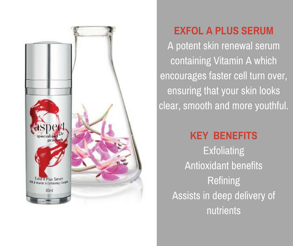 Exfol A plus Serum, another beautiful product from Aspect Dr!