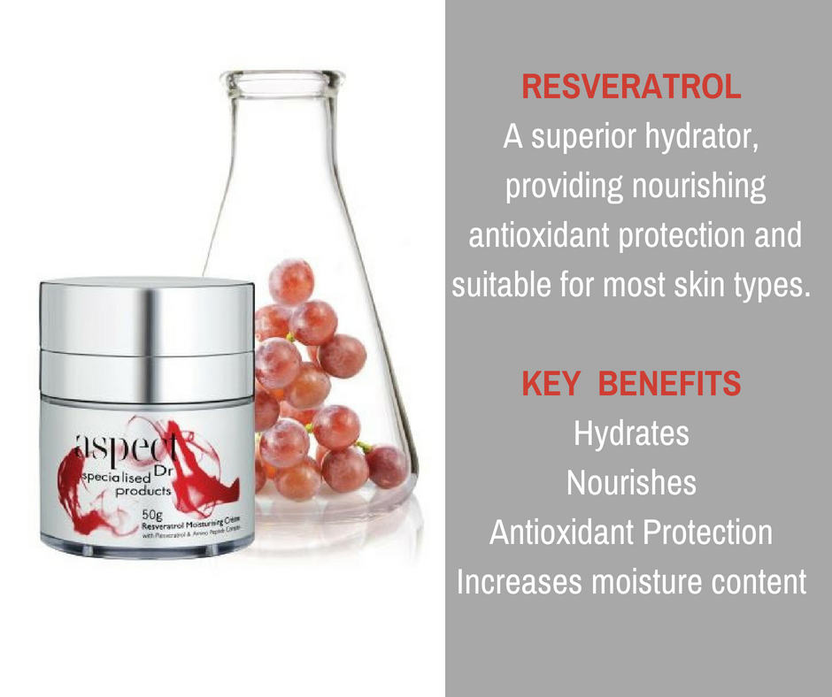 Aspect Dr Resveratrol Moisturising Creme, in your starter kit!