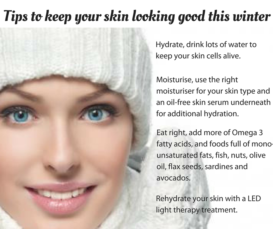 Tips to keep your skin looking good this winter!