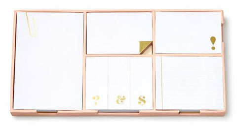 'Strike Gold' Sticky Note Set