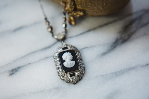 1920's Cameo Necklace