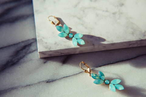 Elise Crystal Earrings