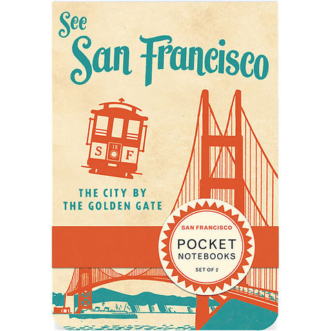 San Francisco Pocket Notebooks