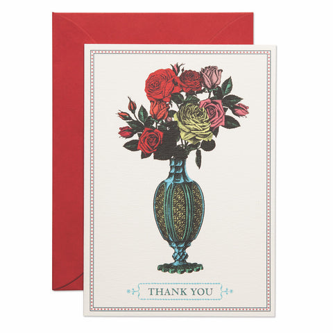 Thank You Bouquet Card