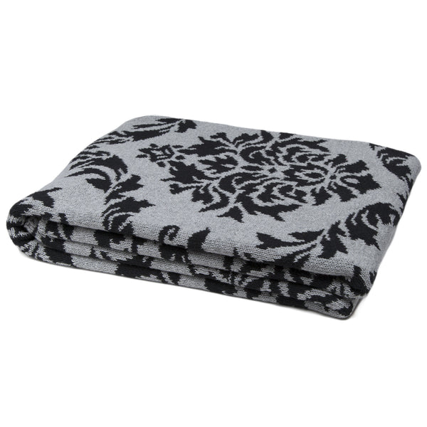 Damask Reversible Throw
