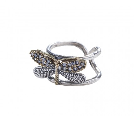 Natural Beauties Ring - Dragonfly